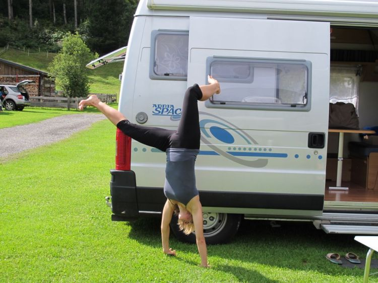 Camping = Flexibility!