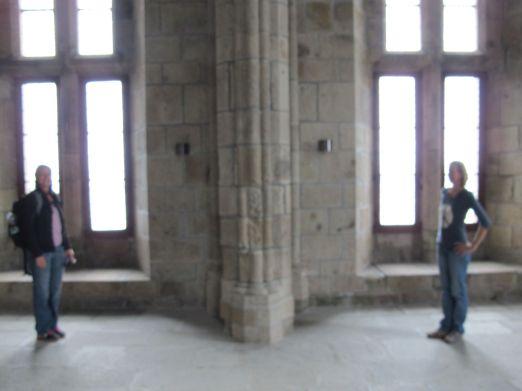 Hat uns das Kloster erleuchtet? Vielleicht...