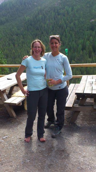 Gipfel- und Hüttenstürmerinnen
