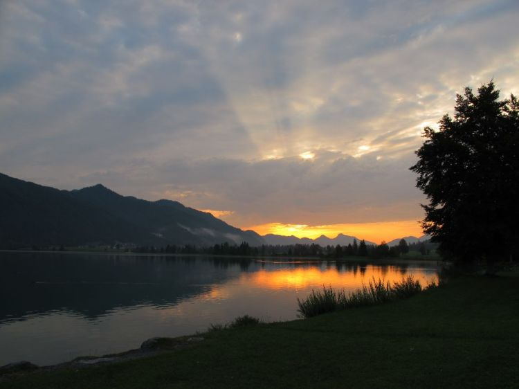 Morgens am Walchsee