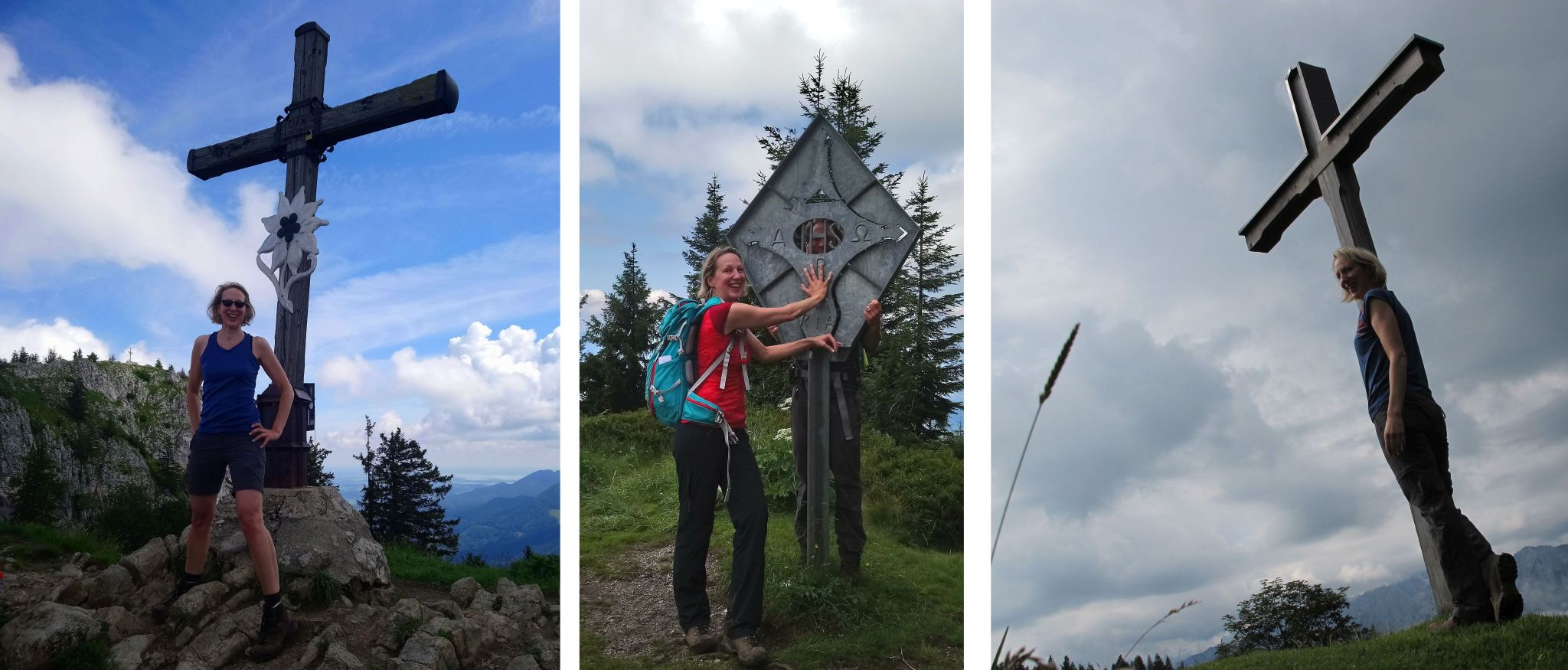 Hiking the Alps Chiemgau