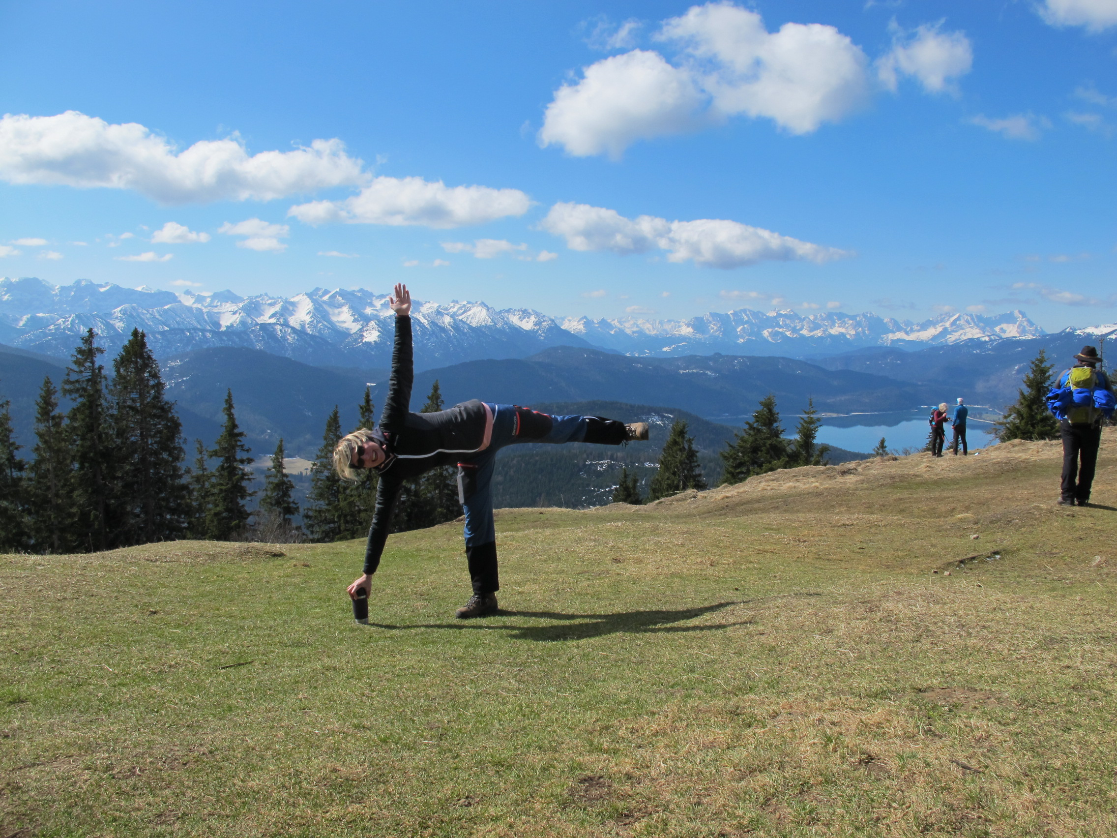 Alpine Yoga; #hikingthealps; #hiking the alps; #alpyoga